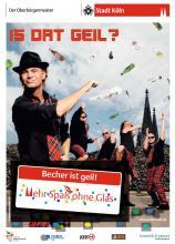 """Die Kölner haben """"Mehr Spaß ohne Glas"""" (Foto: Stadt Köln)"""