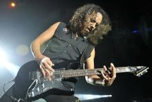 Kirk Hammett: Der Gitarrist ist seit den Anfangstagen dabei. (Foto: ddp)