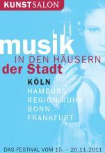 """An fünf verschiedenen Orten wird vom 15. bis zum 20. November """"Musik in den Häusern der Stadt"""" gespielt."""