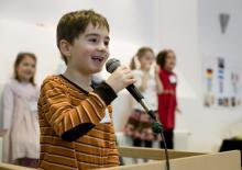 Bei der c/o pänz können Kinder zeigen, was in ihnen steckt. (Foto: dapd)