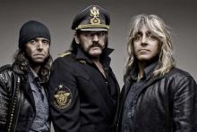 Phil Campbell, Lemmy Kilmister, Mikkey Dee: Das Trio Motörhead ist eine Legende der Rockmusik.
