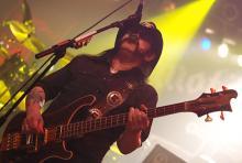 Lemmy Kilmister: 64 Jahre und kein bisschen leise. (Foto: Helmut Löwe)