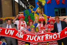 Das Sessionsmotto holt den Zuckerhut nach Köln. (Foto: Helmut Löwe)
