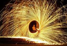 """Furiose Feuershow: Das """"Traumspektakel"""""""
