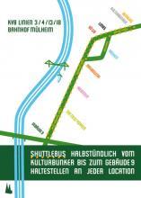 Vom Kulturbunker bis zum Gebäude 9 fährt halbstündlich ein Shuttlebus für alle Besucher.