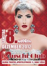 Muschi Club goes Gloria Theater (Flyer: Veranstalter Muschi Club)