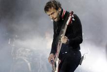 Christopher Wolstenholme: Der Bassist liefert einen komplexen Rhythmus für die Muse-Songs. (Foto: ddp)