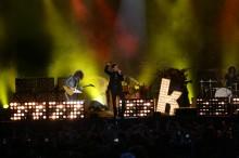 Music Unlimited The Killers am Dom (Foto: Agentur Lautstark)
