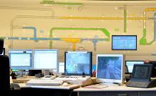 Von dieser Leitstelle aus wird der gesamte KVB-Verkehr gesteuert
