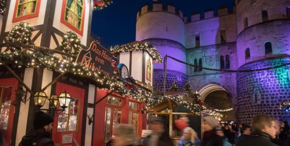 Weihnachtsmarkt Rudolfplatz Köln
