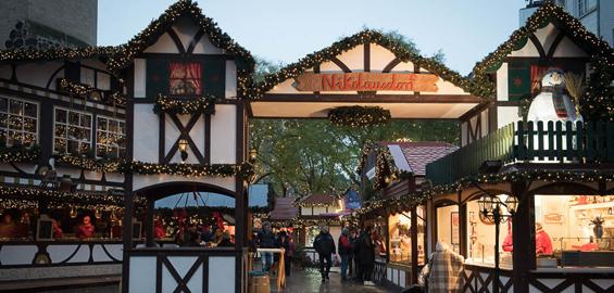 Weihnachtsmarkt Köln Rudolfplatz - Nikolausdorf Köln