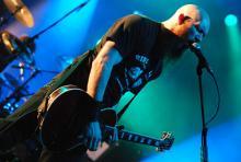 Druckvolles Gitarrenspiel: Marshall Gill (Foto: Helmut Löwe)