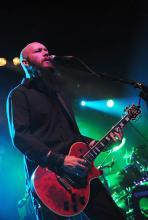 Marshall Gill: seit 2005 Gitarrist der Band. (Foto: Helmut Löwe)