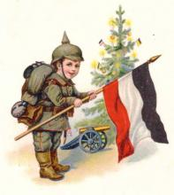 Postkarte aus dem ersten Weltkrieg (©NS-Dokumentationszentrum)