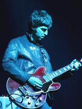 Noel Gallagher von Oasis: Prügelt sich auch gerne mit seinem Bruder. (Foto: ddp)