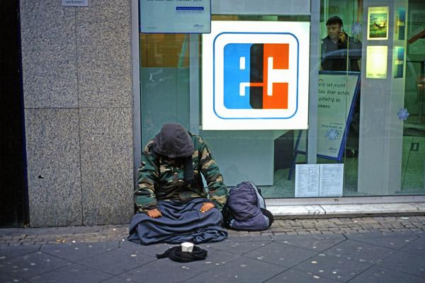 Obdachlos Köln