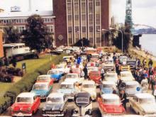 Dies ist nicht der erste Besuch der Oldtimer und ihrer Besitzer bei den Kölner Ford-Werken.