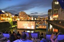 Am 24. Mai wird der Rheinaihafen wieder zum Kino.