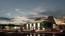 So soll der Offenbachplatz nach dem Umbau aussehen (Foto: Architektenbüro HPP)