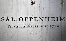 Firmenschild von Sal. Oppenheim (Foto: dapd)