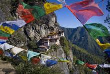Das Kloster Taktshang im Königreich Bhutan (Foto:John Little)