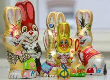 Jede Menge Schokoladenhasen, Ostereier und Osteraktionen erwarten die Kölner in den Köln-Arcaden und Co. (Foto: dapd)