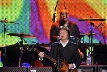 Paul McCartney: Einer der berühmtesten Bassisten der Welt. (Foto: ddp)