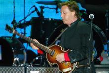 Sir Paul McCartney: Der Ex-Beatle kommt zu vier Konzerten nach Deutschland. (Archivfoto: ddp)