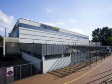 Die Philipshalle Seit 1971 beliebte Veranstaltungshalle für Konzerte, Shows und Sportereignisse. (Foto: DüsseldorfCongress. Veranstaltungsgesellschaft mbH)