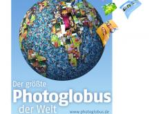 Weltrekordversuch: Auf der Photokina 2010 soll der weltweit größte Photoglobus entstehen.