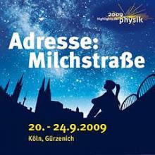 """Das Wissenschaftsfestival """"Adresse: Milchstraße"""" startet am Sonntag"""