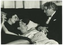 Pablo Picasso und die Frauen: in den 1930er Jahren von Man Ray   fotografiert. @ Man Ray Trust Paris/VG Bild-Kunst
