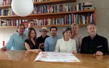 Die Veranstalter des Kölner Leseherbstes 2013 (Foto: Marie Neuhalfen)