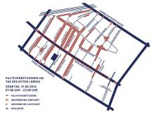 Halteverbotszonen zum Tag des guten Lebens (Grafik: Agora Köln)