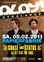 Der Flyer zur Party. (Quelle: www.facebook.com/playdnb)