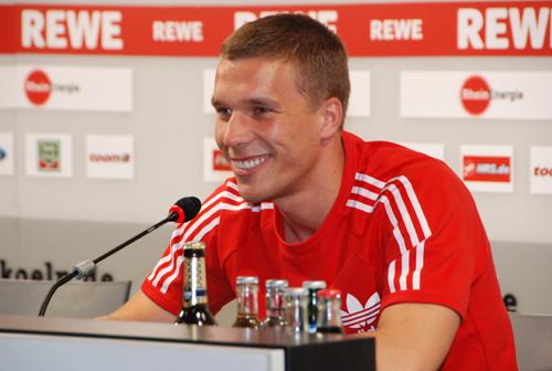 Pressekonferenz Poldi