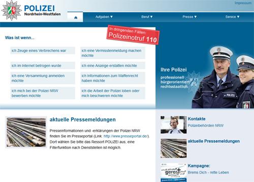 Polizei Köln Anzeige