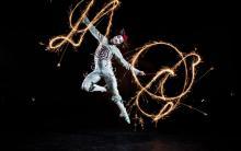 "Die Figur ""The Target"" aus Quidam. Foto: Matt Beard / Cirque du Soleil"