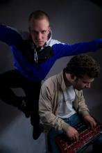"""Das Kölner DJ-Team """"Raucherecke"""" steht am 22. Januar im Club Subway an den Decks. (Pressefoto)"""