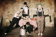 """Die Red Hot Chili Peppers stellen ihr neues Album """"I'm with you"""" am 30. August exklusiv in Köln vor (Foto: Warner Music)."""