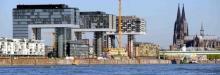 Auch am Rheinauhafen in Köln dürfen Schiffe anlegen