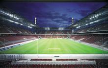 Das Rheinenergie-Stadion in der Nacht. (Foto: Kölner Sportstätten GmbH / Heiner Leiska)