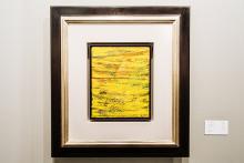 "550.000 Euro, gerahmt: Gerhard Richters ""Abstraktes Gemälde"" (1978) Foto: Hardt"