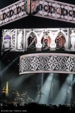 """Großes Bühnenspektakel auf Rihannas """"Diamonds World Tour"""". (Foto: Helmut Löwe)"""