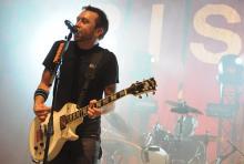 """Tim McIlrath: er und seine Band engagieren sich für die Umweltschutzorganisation """"Sea Shepherd"""". (Foto: Helmut Löwe)"""