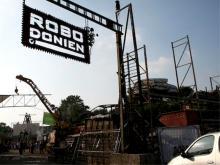Das Roboter-Kunst-Festival Robodonien findet im Kölner Odonien statt. (Foto: F. Schmelcher)