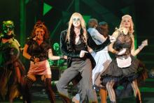 """Let's do the Time Warp again..."": Der bekannteste Song aus der Rocky Horror Show. (Foto: Helmut Löwe)"