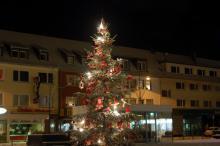 Festlich geschmückt Rodenkirchen im Kölner Süden (Foto: red)