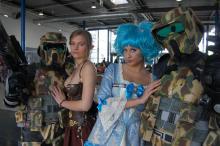 Nette Elfen, harte Krieger: Kostüme sind gefragt