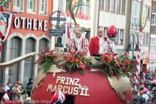 Auch der Prinz zieht 2013 über die Ringe. (Foto: Joachim Rieger)